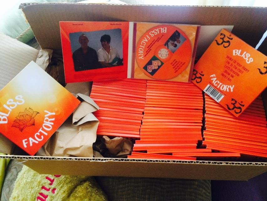 Box Of Bliss Factory EPs fresh from the factory